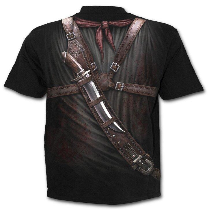 T Shirt Guns In Holster Dedoles