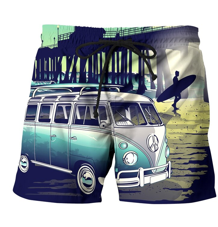 Men's Swim Shorts California