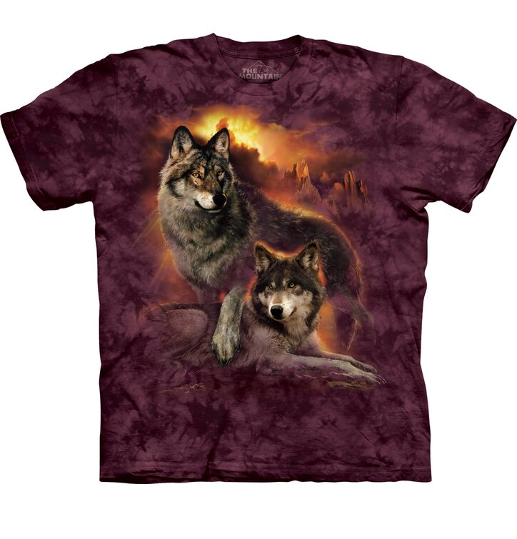 Wolf Sunset Adult