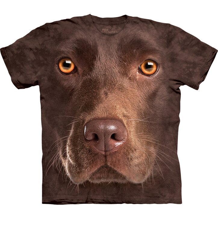 Chocolate Lab Face Adult