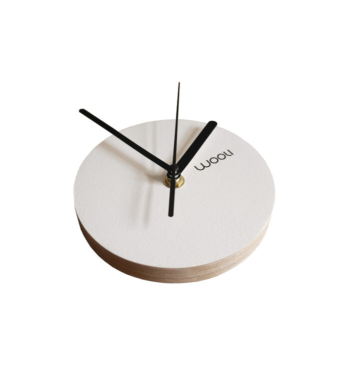 Wall Clock Kloki XS - white