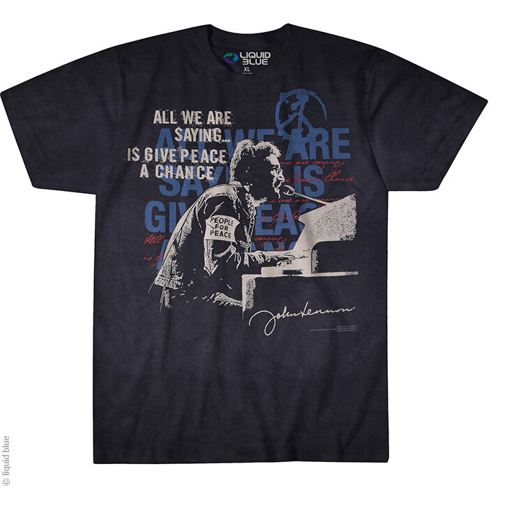 John Lennon tie dye t-shirt 100% cotton