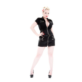 Black Short Punk Dress
