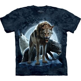 T-shirt Furious Growl