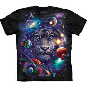 T-shirt Tiger in Universe