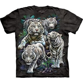 T-shirt Tiger's Curiosity