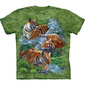 T-shirt Peaceful Tiger