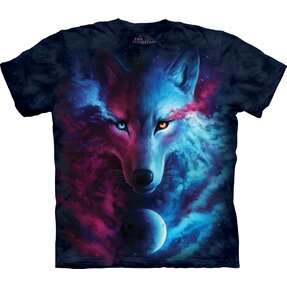 T-shirt Heavenly Wolf