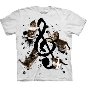 T-shirt Music and Kittens
