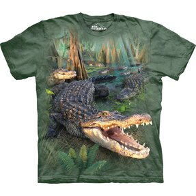 T-shirt Curious Crocodile