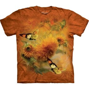 T-shirt Butterflies and Dandelion