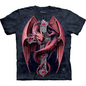 T-shirt Burgundy Dragon