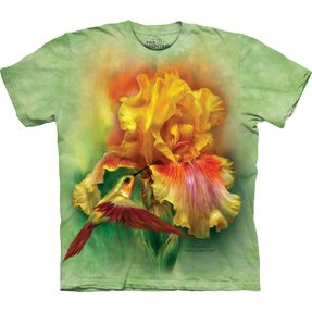 T-shirt Yellow Bright Flower