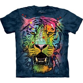 T-shirt Colourful Tiger