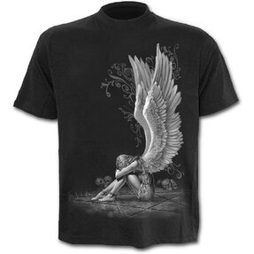T-shirt Crying Angel Black