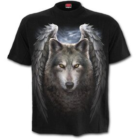 T-shirt Blessed Wolf