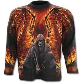 Long Sleeve Fiery Wings