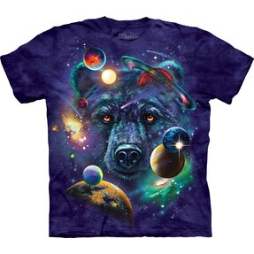 T-shirt Bear in Universe Child
