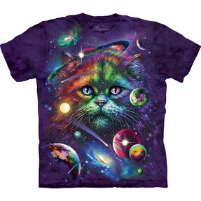 T-shirt Cat and Universe Child