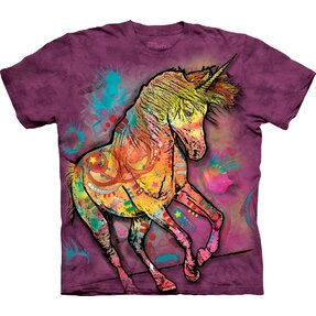 T-shirt Runaway Unicorn Child