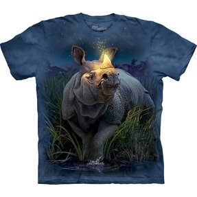 T-shirt Bright Rhino Child