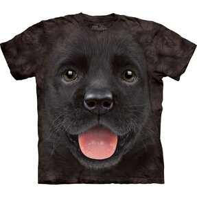 Black T-shirt Labrador Puppy