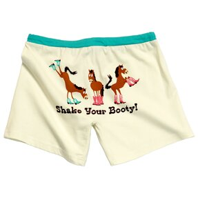 Ladies Pyjamas Boxers Horse in Boots