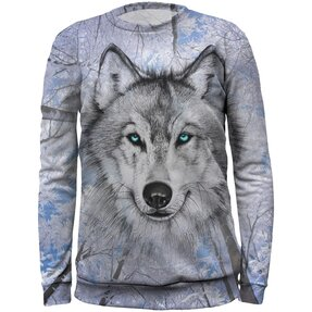 Kids' Sweatshirt Wolf