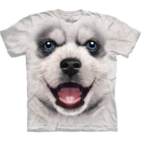 Kids' T-shirt Siberian Husky Puppy