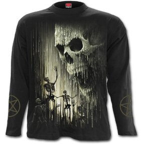 Long Sleeve with design Waxed Skull