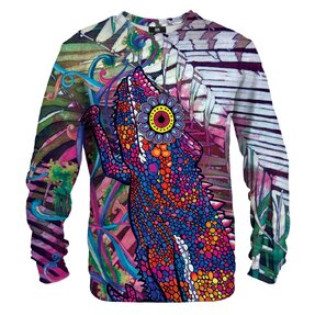 Sweatshirt Painted Chameleon