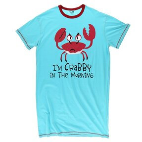 Blue Ladies' Nightshirt Crab