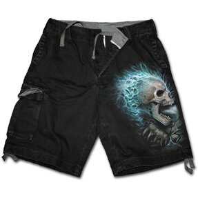 Men's Shorts with design Blue Flame