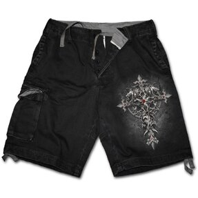 Men's Shorts with design Gothic Cross