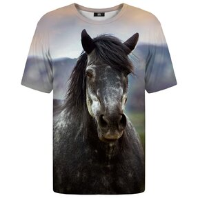 T-shirt with Short Sleeve Wild Horse