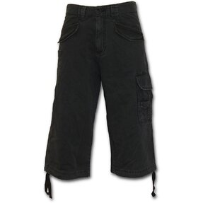 Men' s Trousers - Three-quarter with Design Black