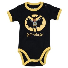 Funny Kids' Bodysuit Bat Moose