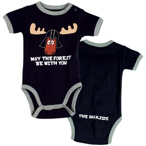 Funny Kids' Bodysuit May The Forest Be With You