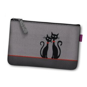 Cosmetic Bag - Two Cats