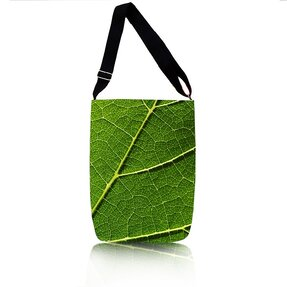 Easy Cross Shoulder Bag - Green Leaf