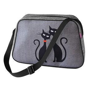 Nesi Handbag - Two Cats