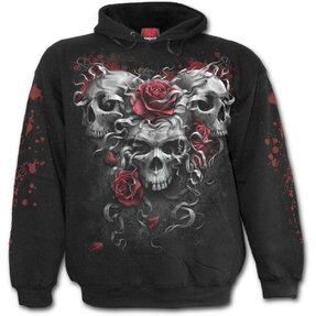 Kids' Hoodie Three Skulls and Roses