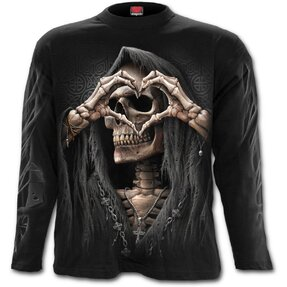 Men's T-shirt with Long Sleeve Dark Love