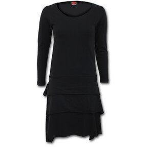 Long-sleeved Dress Black