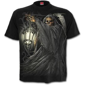 T-shirt with design Death with Lantern