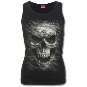 Ladies' Tank Top with design Vampire Skull