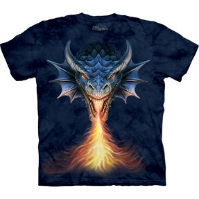 T-shirt with Short Sleeve Furious Dragon