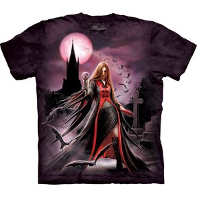 T-shirt with Short Sleeve Dark Fairy