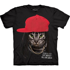 T-shirt with Short Sleeve Cat Lil Wayne