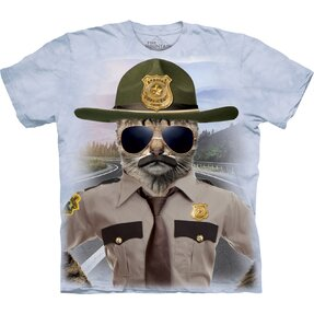 T-shirt with Short Sleeve Kitten Trooper